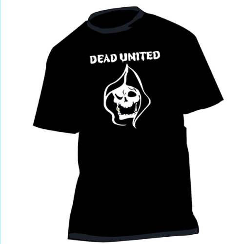 4 Shirt or Girlie DEAD UNITED logoskull
